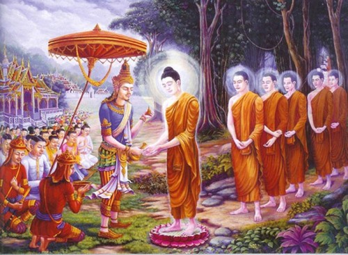the four cardinal events in the life of a buddha