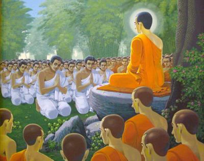 The Buddha Dhamma and Sangha are the True refuge of Buddhists