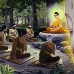 Pancavakii_recieving_Dhamma_Chakra_Teachings