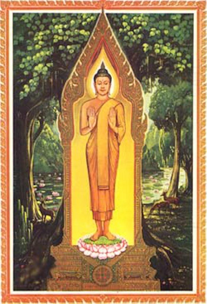 Monday Buddha Forbidding Relatives