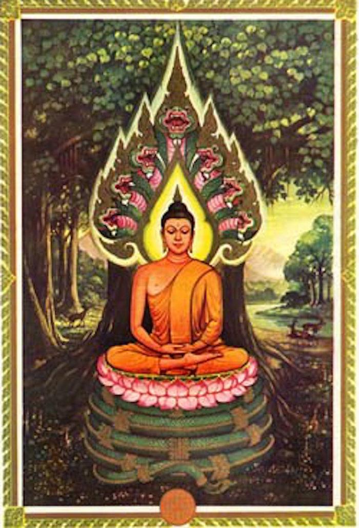 Pra Nakprok Saturday Buddha