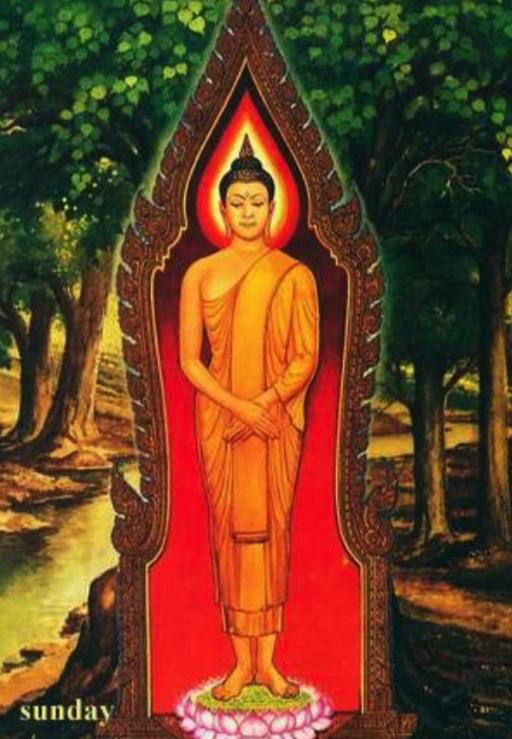 Sunday Buddha-Rupa